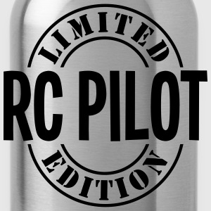 rc pilot limited edition stamp - Water Bottle