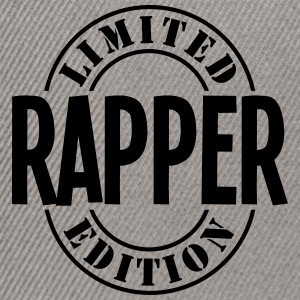 rapper limited edition stamp - Snapback Cap