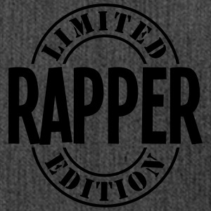 rapper limited edition stamp - Shoulder Bag made from recycled material