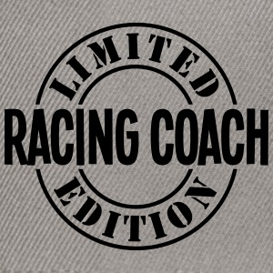 racing coach limited edition stamp - Snapback Cap