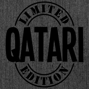 qatari limited edition stamp - Shoulder Bag made from recycled material