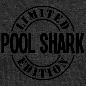 pool shark limited edition stamp - Women's Boat Neck Long Sleeve Top