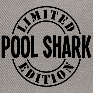 pool shark limited edition stamp - Snapback Cap