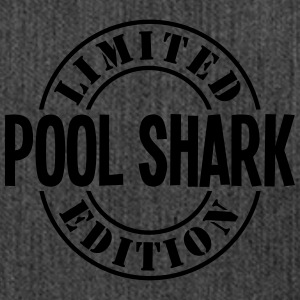 pool shark limited edition stamp - Shoulder Bag made from recycled material