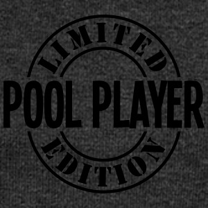 pool player limited edition stamp - Women's Boat Neck Long Sleeve Top