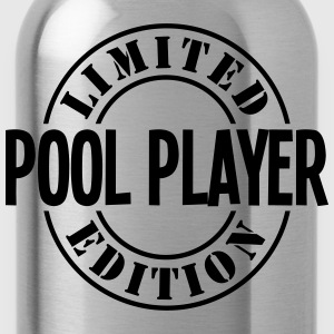 pool player limited edition stamp - Water Bottle