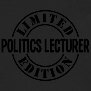 politics lecturer limited edition stamp  - Men's Premium Longsleeve Shirt