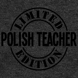 polish teacher limited edition stamp cop - Women's Boat Neck Long Sleeve Top
