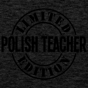 polish teacher limited edition stamp cop - Men's Premium Tank Top