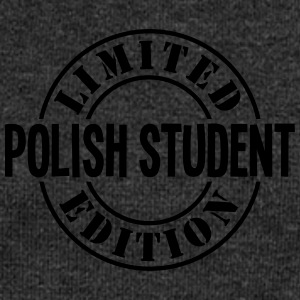 polish student limited edition stamp cop - Women's Boat Neck Long Sleeve Top