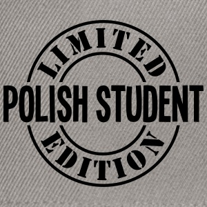 polish student limited edition stamp cop - Snapback Cap
