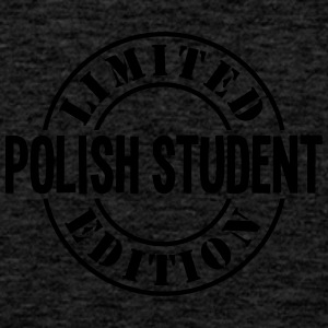 polish student limited edition stamp cop - Men's Premium Tank Top