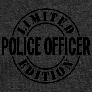 police officer limited edition stamp cop - Women's Boat Neck Long Sleeve Top