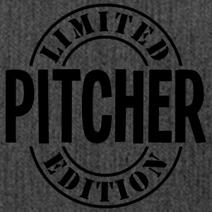 pitcher limited edition stamp - Shoulder Bag made from recycled material