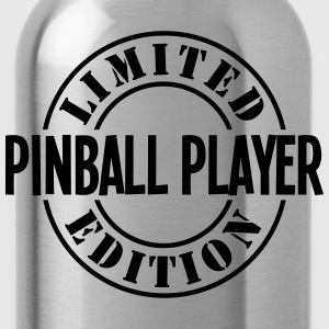 pinball player limited edition stamp cop - Water Bottle