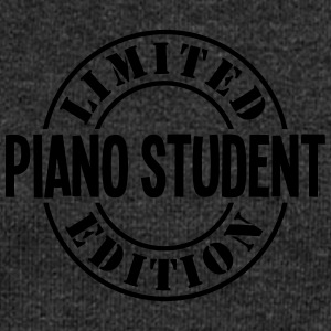 piano student limited edition stamp - Women's Boat Neck Long Sleeve Top
