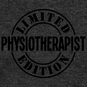 physiotherapist limited edition stamp co - Women's Boat Neck Long Sleeve Top