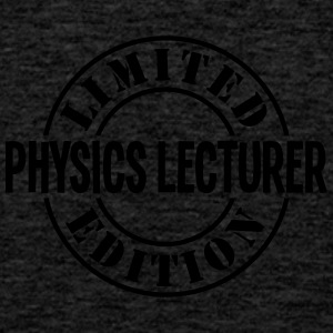 physics lecturer limited edition stamp c - Men's Premium Tank Top