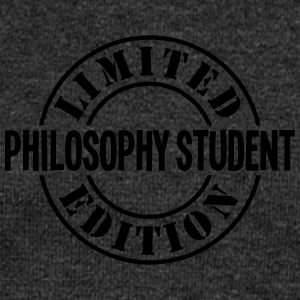 philosophy student limited edition stamp - Women's Boat Neck Long Sleeve Top