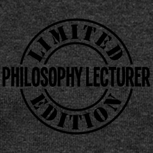 philosophy lecturer limited edition stam - Women's Boat Neck Long Sleeve Top