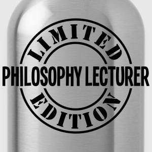 philosophy lecturer limited edition stam - Water Bottle