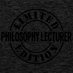 philosophy lecturer limited edition stam - Men's Premium Tank Top
