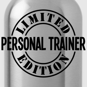 personal trainer limited edition stamp c - Water Bottle