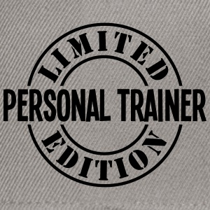 personal trainer limited edition stamp c - Snapback Cap