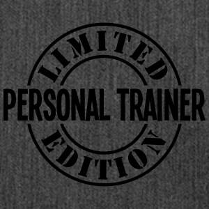 personal trainer limited edition stamp c - Shoulder Bag made from recycled material