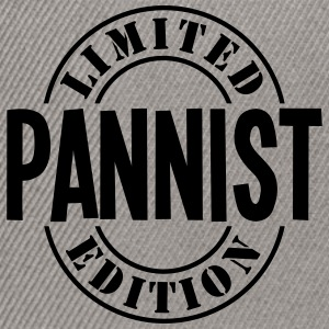 pannist limited edition stamp - Snapback Cap
