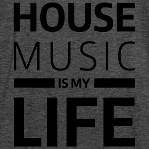 house music is my life techno Club DJ Musik Sweaters - Vrouwen tank top van Bella
