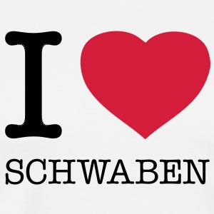 I LOVE SCHWABEN - Men's Premium T-Shirt