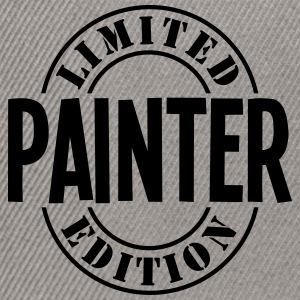 painter limited edition stamp - Snapback Cap