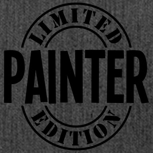 painter limited edition stamp - Shoulder Bag made from recycled material