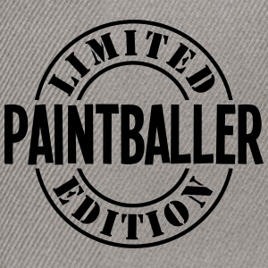 paintballer limited edition stamp - Snapback Cap