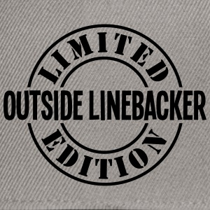 outside linebacker limited edition stamp - Snapback Cap