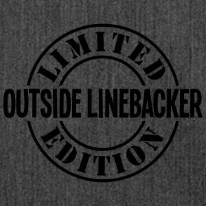 outside linebacker limited edition stamp - Shoulder Bag made from recycled material