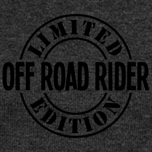 off road rider limited edition stamp cop - Women's Boat Neck Long Sleeve Top