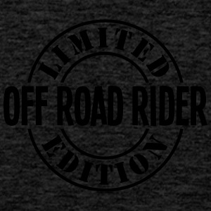 off road rider limited edition stamp cop - Men's Premium Tank Top
