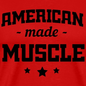 American Made Muscle Sports wear - Men's Premium T-Shirt