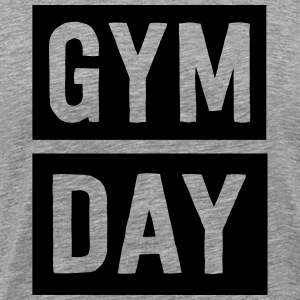 Gym Day Sports wear - Men's Premium T-Shirt