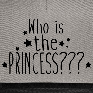 who is the princess Sweat-shirts - Casquette snapback