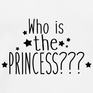 who is the princess Badges - T-shirt Premium Homme