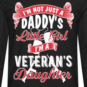 Veteran's Daughter T-Shirts - Men's Premium Longsleeve Shirt