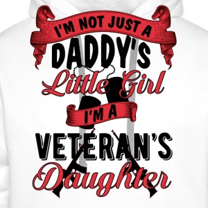 Veteran's Daughter T-Shirts - Men's Premium Hoodie