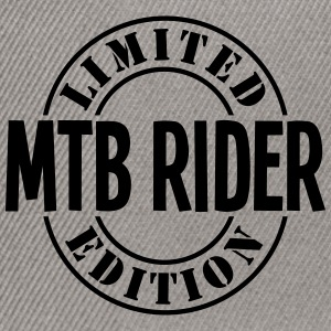 mtb rider limited edition stamp - Snapback Cap