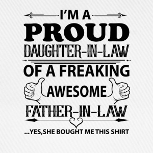 I'm Proud Daughter In Law T-Shirts - Baseball Cap