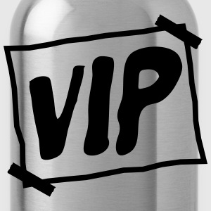 Fractured very important person design cool logo p T-Shirts - Water Bottle