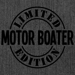 motor boater limited edition stamp - Shoulder Bag made from recycled material
