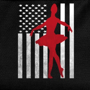 Ballet Dancer Ballerina - America USA Flag  T-Shirts - Kids' Backpack
